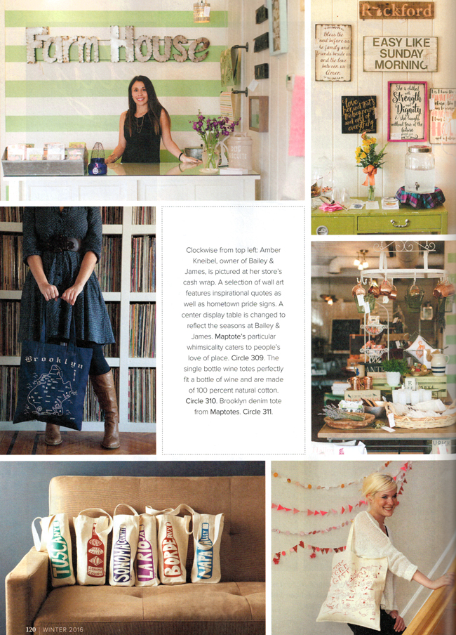 Gift Shop Magazine Feature « Maptote