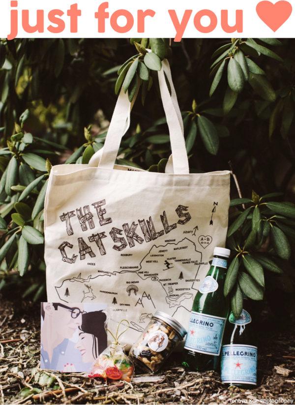 Catskills Wedding Tote Bag
