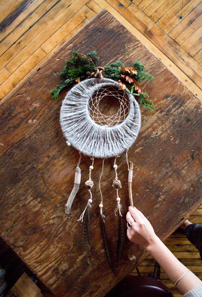 Fall Dreamcatcher | Unique Bohemian Gypsy Dreamcatchers Ideas Perfect For Homemade Gifts