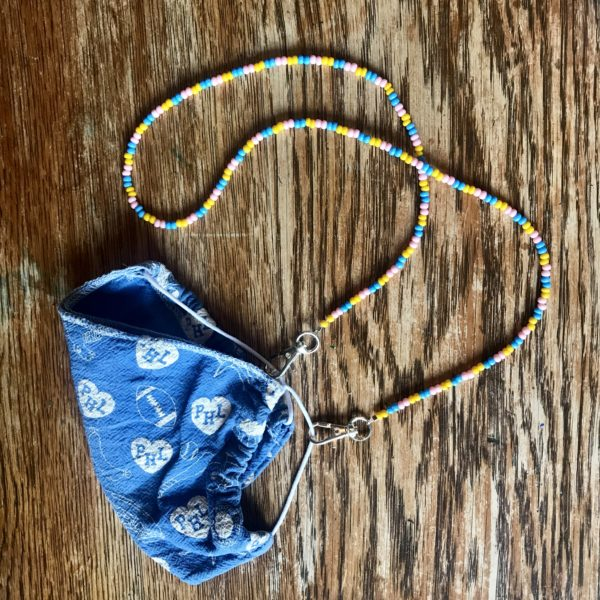 DIY BEADED MASK CHAIN