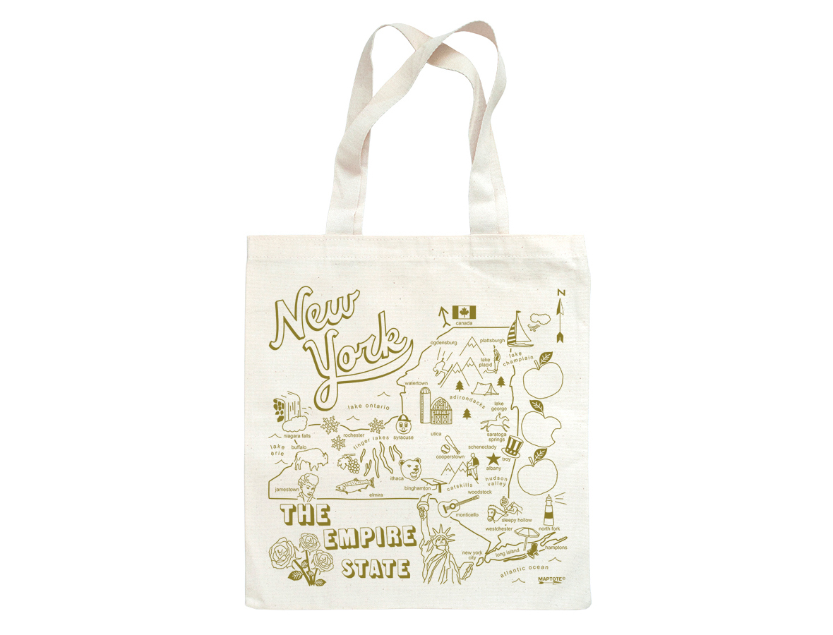 Maptote new york state grocery tote gumiabroncs Choice Image