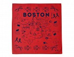 Boston Bandana - Red