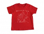 Brooklyn Toddler Tee Red