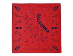 California Bandana - Red