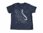California Toddler Tee Navy