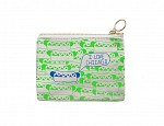 Chicago Coin Purse Green/Blue