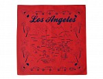 Los Angeles Bandana - Red