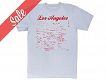 Los Angeles Adult Tee Silver