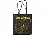 Los Angeles Black Tote