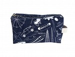 Los Angeles Dopp Kit - Denim