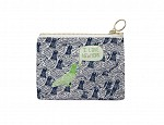 New York City Coin Purse Navy/Green
