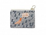 New York City Coin Purse Grey/Orange