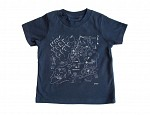 New York City Toddler Tee Navy