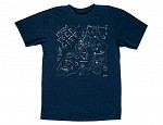 New York City Adult Tee Navy
