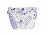 New York City Makeup Pouch - Natural