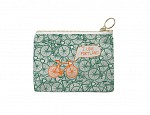 Portland Coin Purse Green/Orange