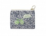 Portland Coin Purse Navy/Green