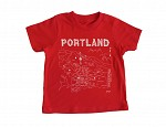 Portland Toddler Tee Red