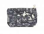 Seattle Zipped Pouches Gray