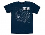 Texas Adult Tee Navy
