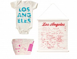 Los Angeles Baby Gift Bundle