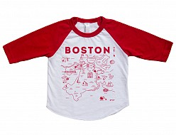 Boston Baby Baseball Tee