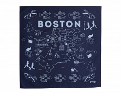 Boston Bandana - Navy