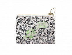 Boston Coin Purse Black/Green