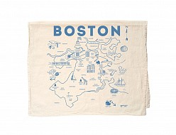 Boston Tea Towel Natural