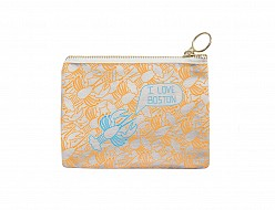 Boston Coin Purse Yellow/Blue
