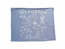 Brooklyn Tea Towel Blue