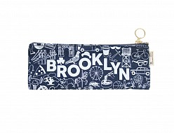 Brooklyn Pencil Pouch Denim