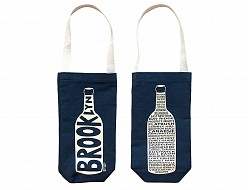 Denim Brooklyn Wine Tote