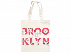 Brooklyn FONT Grocery Tote