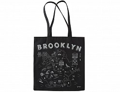 Brooklyn Black Everyday Tote