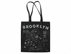 Brooklyn Black Tote