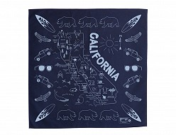 California Bandana - Navy