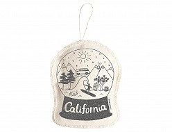 California Ornament Silver