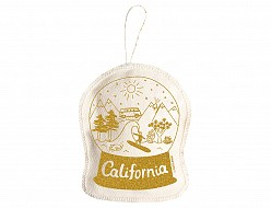 California Ornament Gold