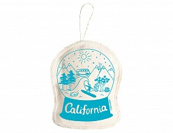 California Ornament Blue