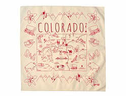 Colorado Bandana - Natural