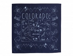 Colorado Bandana - Navy