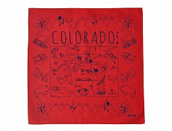 Colorado Bandana - Red