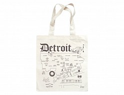 Detroit Grocery Tote