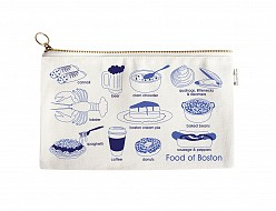 Boston Foodie Slim Pouch Natural