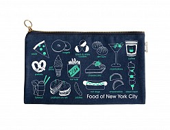 New York City Foodie Slim Pouch Denim