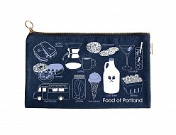 Portland Foodie Slim Pouch Denim