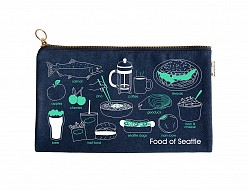 Seattle Slim Foodie Pouch Denim