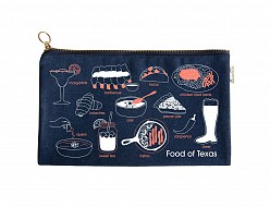 Texas Slim Foodie Pouch Denim