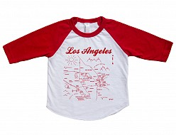 Los Angeles Baby Baseball Tee